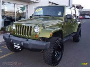 Jeep Green Rescue Green Metallic Jeep Wrangler Images