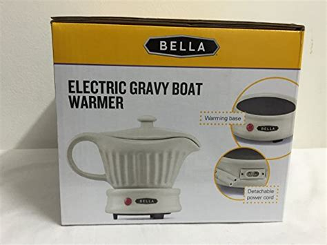 gravy boat and warmer bella electric gravy boat warmer ceramic with lid