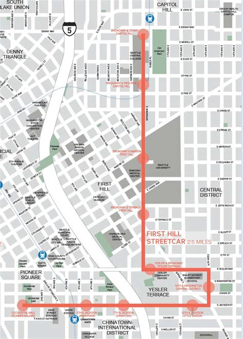 seattle map program hill s streetcar debut still tbd the voicethe voice