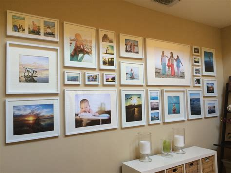 photo gallery wall easy diy tutorial gallery wall with ikea ribba frames