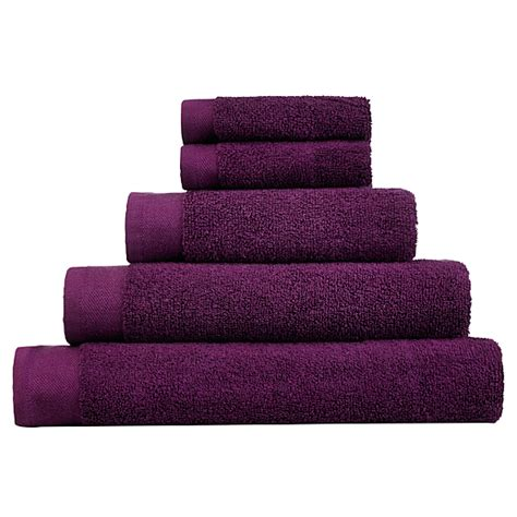Bath Towels Asda George Home Towel And Bath Mat Range Plum Towels