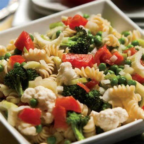 vegetarian pasta salad recipe vegetable pasta salad with cucumber vinaigrette farm flavor