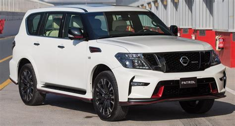 nissan patrol nismo nissan patrol nismo revealed 5 6l v8 with 428 hp