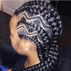 black haircuts with zig zags 30 cool ghana braids to inspire you my new hairstyles