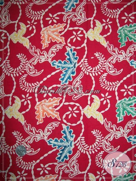 Kain Batik Kawung Merah gambar jual kain batik motif kawung warna merah lapak
