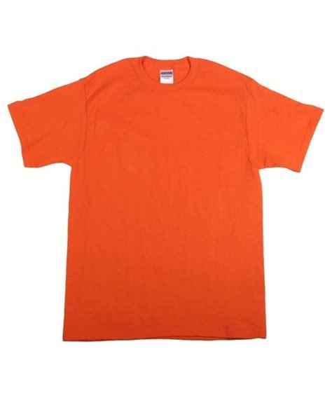 T Shirt S jerzees burnt orange mens t shirt