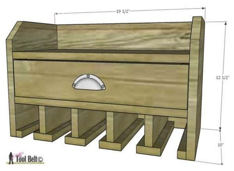diy charging station plans diy brilliant cordless tool station you can make with
