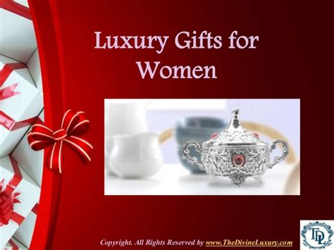gifts for women luxury gifts for women
