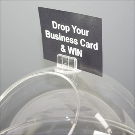Bowl Card Template by Exhibition Display Products Uk