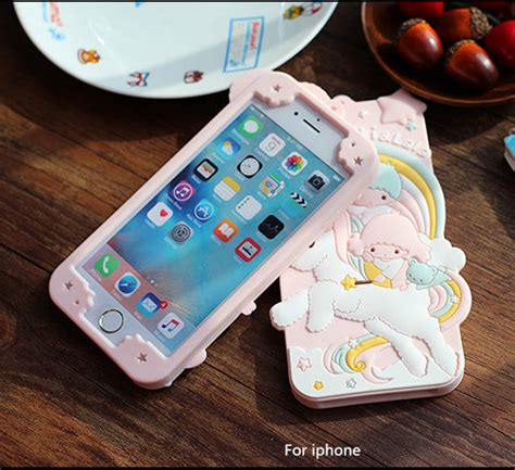 Iphone 6s Plus 3d My Melody Softcase Silikon Sarung Cas Limited 3d pink iphone 7 plus cases silicone cover for iphone 6 6s 7 plus