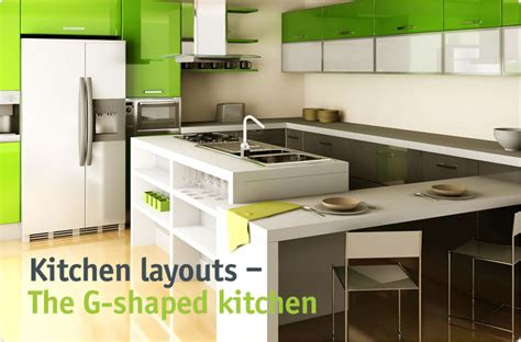 D G Kitchens by Clever Storage The G Shaped Kitchen