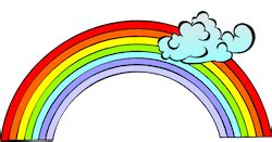 how many colors are there in a rainbow 7 colours of the rainbow vocabulary englishclub