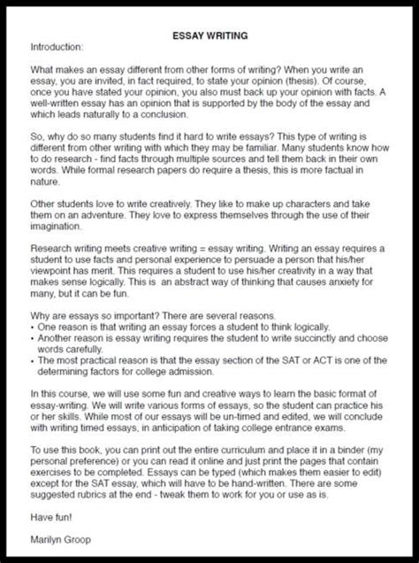 Essay Writing On School homeschool high school essay writing how to get started 7sistershomeschool