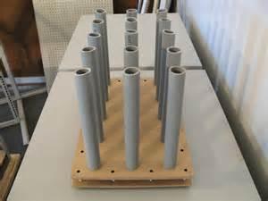 build a simple vinyl roll floor rack built to spec