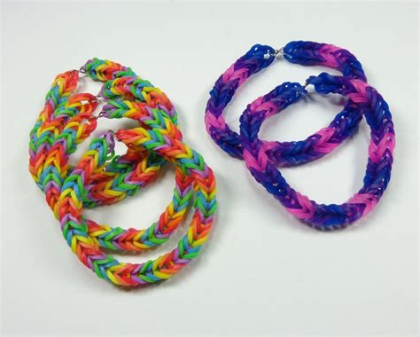 hair accessories to make with loom bands try these cool rainbow loom bracelets for girls accessories