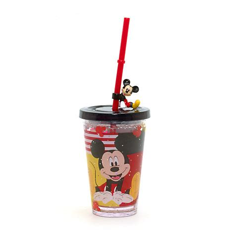 Piyama Cup Mickey mickey mouse waterfill tumbler with straw