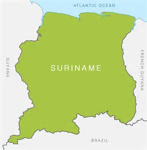 map of suriname south america suriname360 187 about suriname