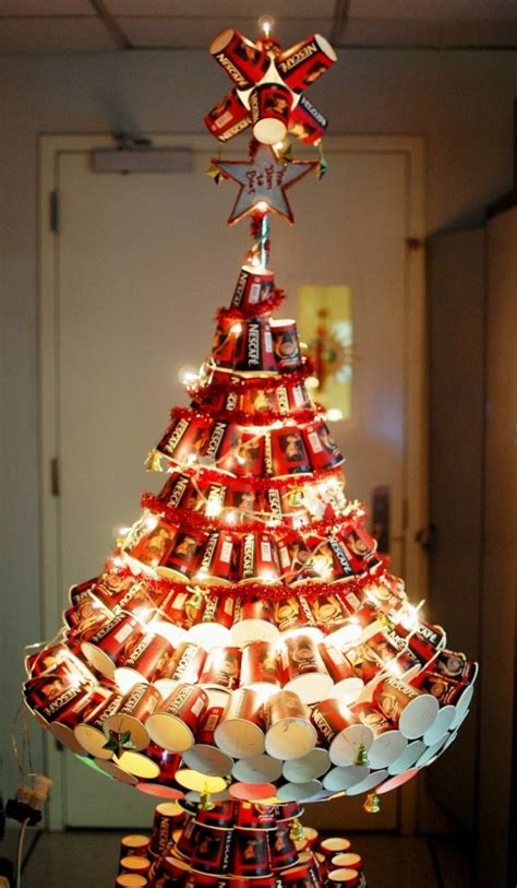 plastic cups christmas tree the most creative tree ideas for your for creative juice