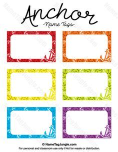 Free Template For Labels For Cards Western by 1000 Ideas About Name Tag Templates On