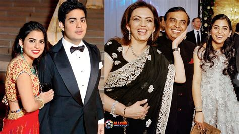 actor jai ganesh son mukesh ambani family photos with wife nita amabani sons
