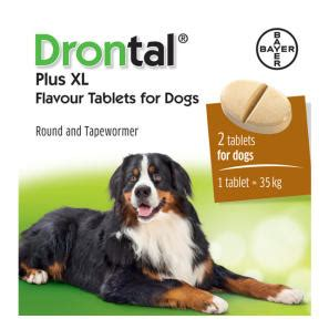 drontal for dogs drontal plus xl worming tablets for dogs chemist direct