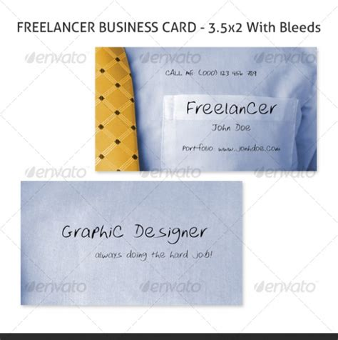freelance business card template cardview net business card visit card design