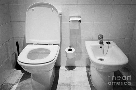 hotels with bidets toilet and bidet in a hotel room salou catalonia spain