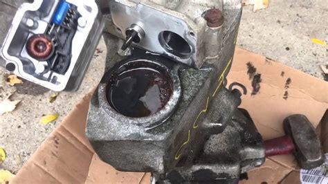 oil pump dem module  haldex rear differential   volvo youtube