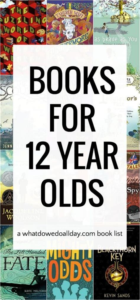 12 years a books 12 can t put books for 12 year olds