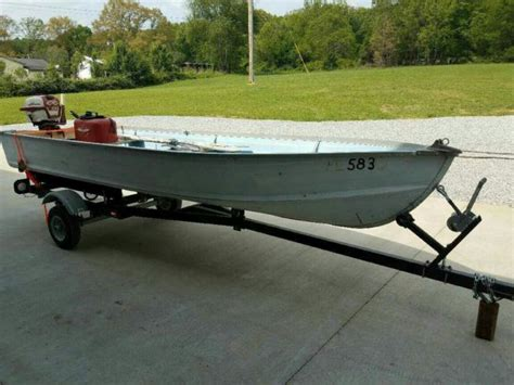 used boat trailers in kentucky vintage 14 ft star craft boat motor and trailer for sale