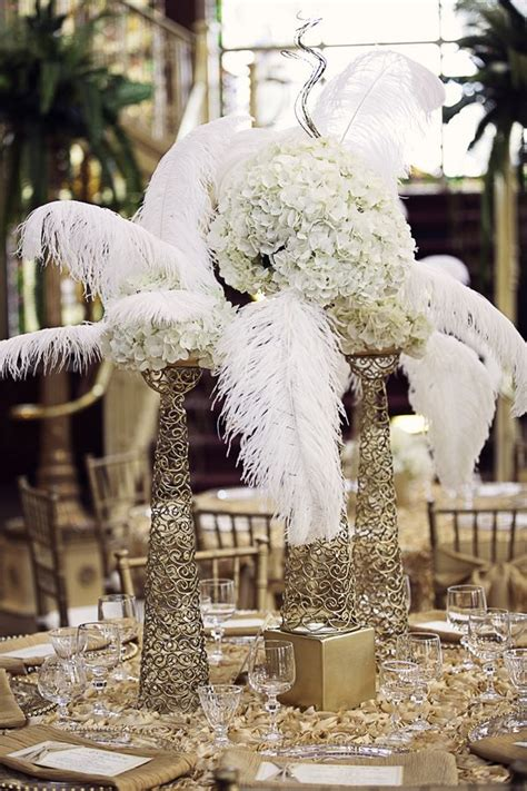 gatsby centerpieces the great gatsby inspired centerpiece ideas what if centerpieces and