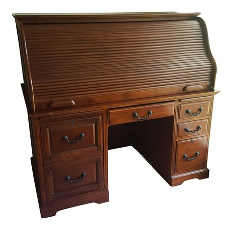 cherry wood filing cabinets cherry wood rolltop desk filing cabinet chairish