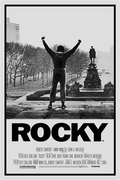 Plakat Rocky by Rocky 1 1976 Quotes Quotesgram