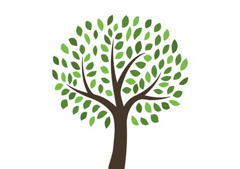 tree logo vector free free vector tree illustration superawesomevectors