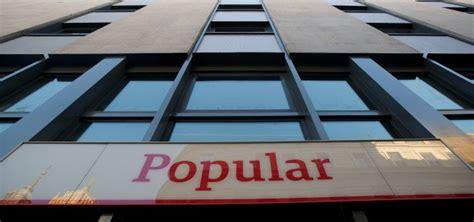 banco popular dividendo popular retomar 225 el pago del dividendo en efectivo en 2017