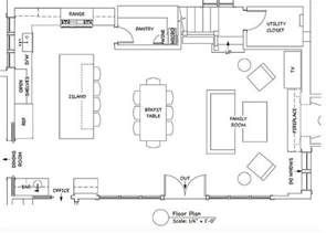 open concept kitchen family room floor plan plans photo courtesy