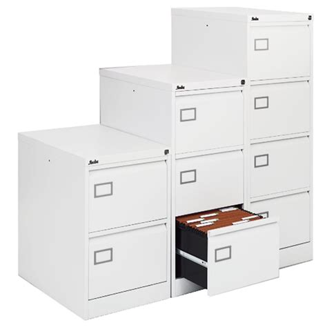 White Filing Cabinet 2 Drawer Executive White Filing Cabinet 4 Drawer