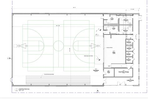 gymnasium floor plan norman h read gymnasium salem academy charter school