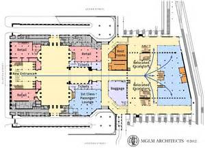 Union Station Floor Plan by Modernize And Expand Chicago S Union Station