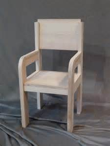 chaise en bois pour enfant meubles et rangements