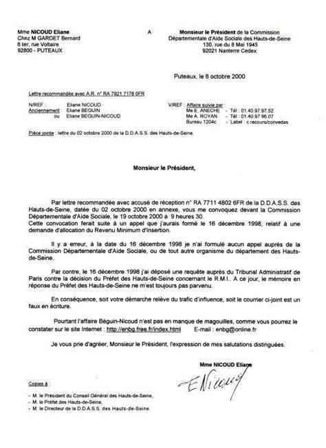 Lettre De Pr Sentation Pi Ce Jointe De La Corruption Au Crime D Etat Nicoud Eliane Les Pieces Ddass