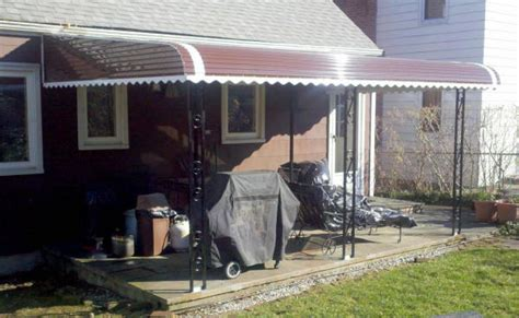 aluminum patio awnings aluminum awnings patio covers westchester county gs s