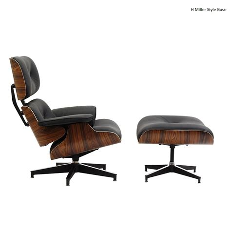 Eames Lounge Chair Best Replica by Eames Lounge Chair Replica Black Manhattan Home Design