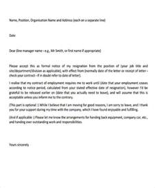 Exle Professional Resignation Letter by Doc 585520 Professional Resignation Letter 12 Professional Resignation Letter Templates Free