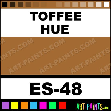 toffee color toffee eye shadows paints es 48 toffee paint