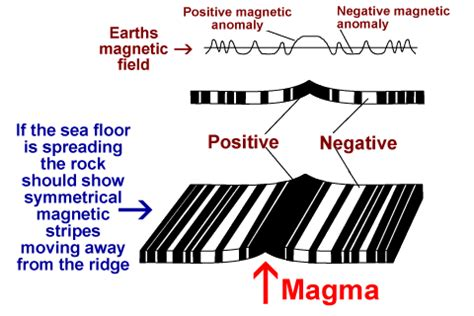 pattern of magnetic polarity reversal 2 answers is there any real proof to tectonic shift or