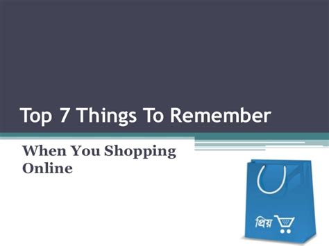 7 Things To About Shopping by Top 7 Things To Remember Shopping
