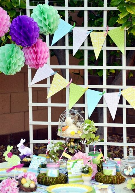Simple Home Design Tips 21 great decorating ideas for easter for a colorful spring