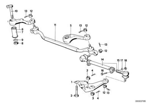 tie rod assembly diagram diagrams and torque settings for 6 series bmws