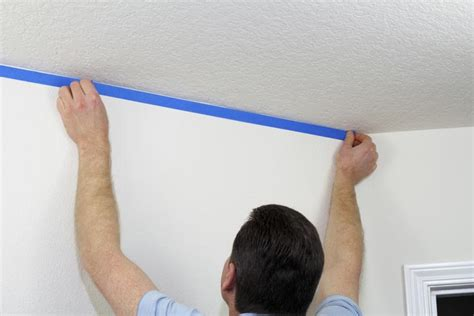 paint walls faster by starting on the left if you re right how to mask a room before painting